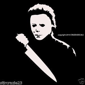 7 Michael Myers Halloween Horror Vinyl Decal Sticker