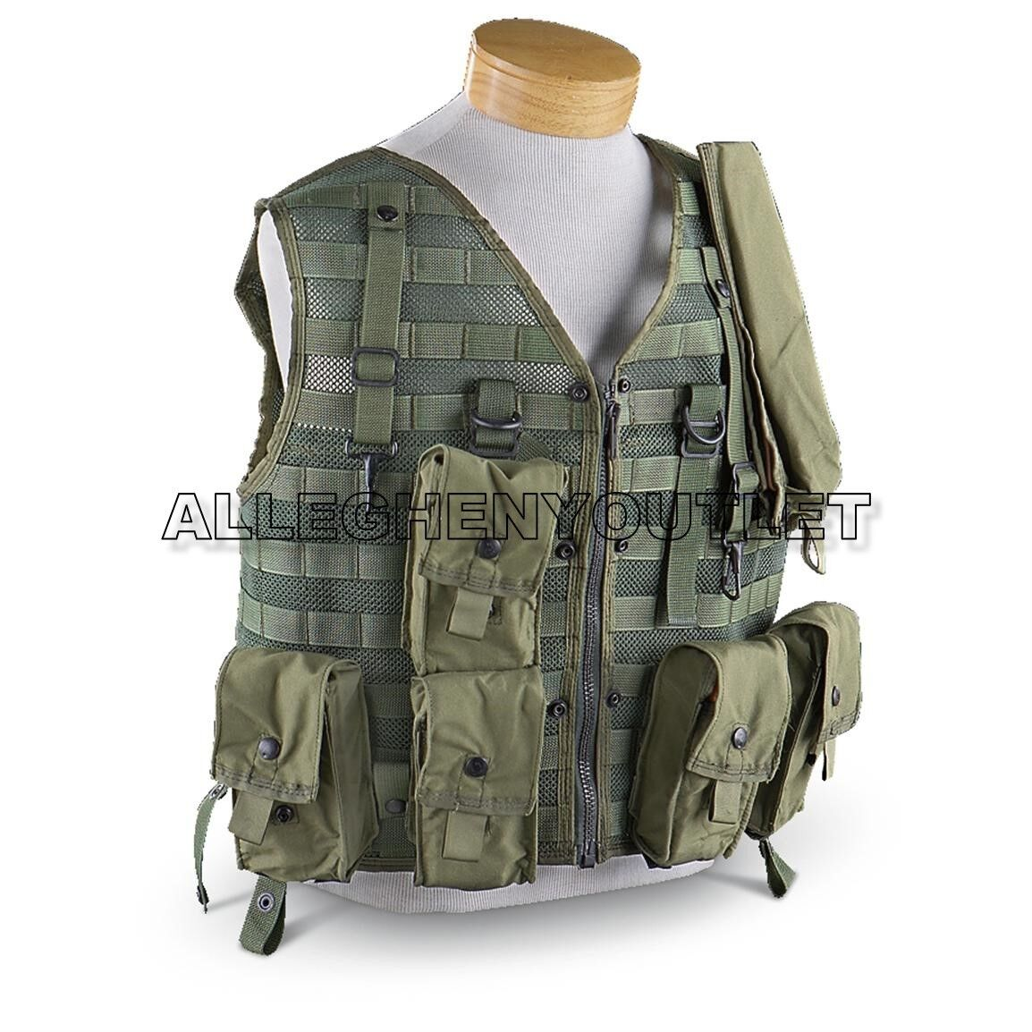 CMU-33 P22P-18 SURVIVAL VEST US ARMY AIRCREW  AIRCRAFT VEST ONLY NEW  very popular