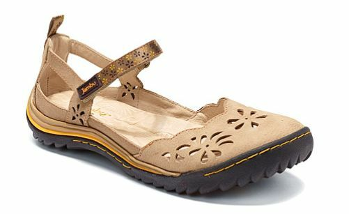 Jambu Deep Sea Oatmeal Mary Jane Flat Damenss Größes 6-10/NEU