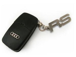 Audi s-line schlüsselanänger cuero negro clave remolque tuning a3 a4 a5 a6