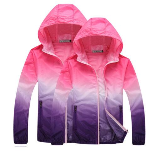 Women/'s Running Sport Jacket Active Hooded Cardigan Zip Up Gym Jogging Training