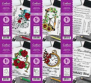 * Nouveau 2017 * Crafter's Companion A6 non montés Rubber Stamp-GRATUIT UK p&p-afficher le titre d`origine Mx8OggbI-07184944-566769155