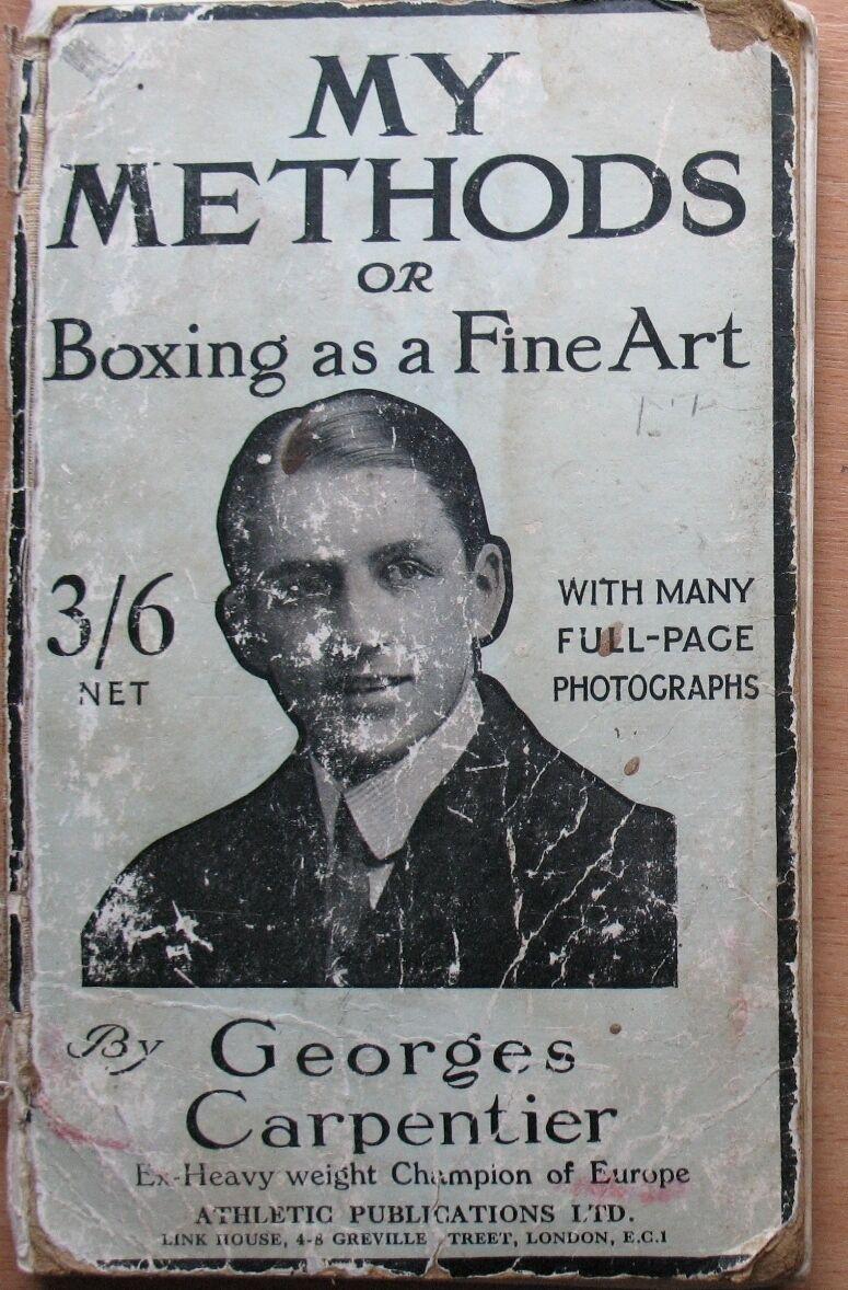 Libro inglés boxeador Ring Ring Ring clase artes marciales deporte Cochepintero viejo
