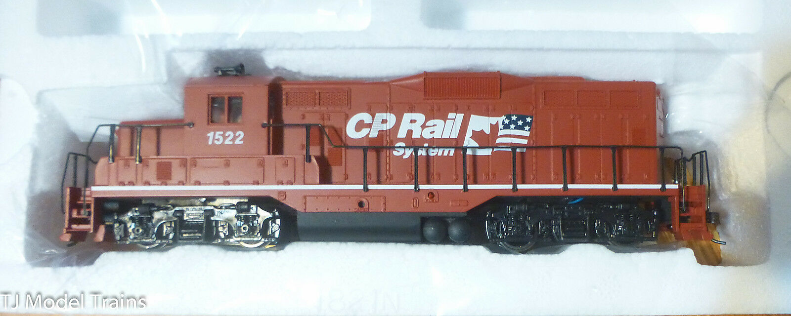 Walthers Trainline CP Rail GP9M GP9M GP9M Locomotive (DC Version) 1a9bce