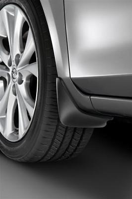 4 /& 5 Door 2010-2013 Mazda 3 Front Black Splash Guards OEM NEW BCN7-V3-450