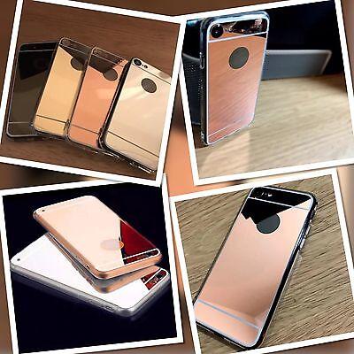Apple Iphone 8 Case Specchio Bronzo Temprato & Proteggi Schermo Spedizione Gratuita-
