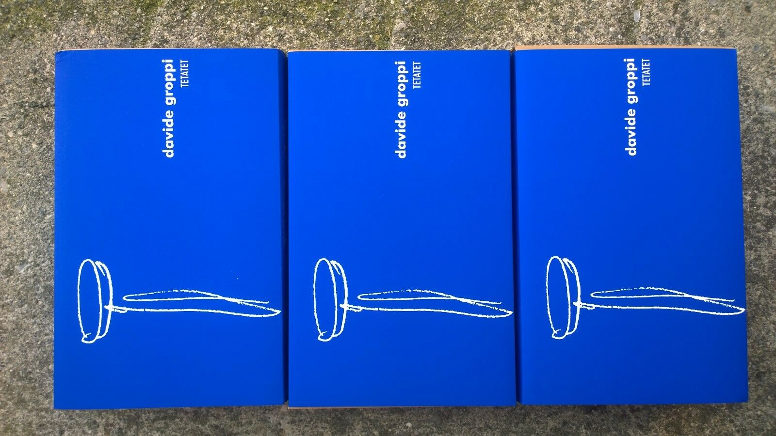 Ue- davide groppi - Tetatet - 3 Pieces - Weiß Matt - 170503 - 2019 Web