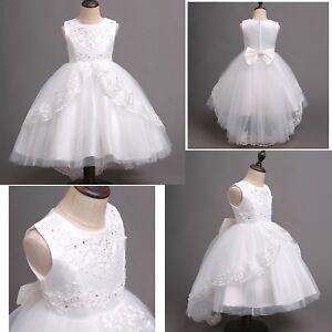 Vestito-Damigella-Comunione-Abito-Bambina-Girl-Party-Bridesmaid-Dress-CDR073-SD