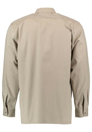 Jagdhemd  Freizeithemd Outdoorhemd Hemd 1//1 Arm Os-Trachten Safari natur-beige
