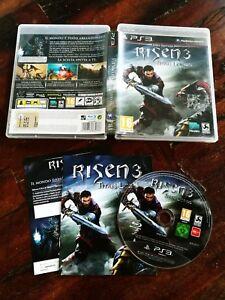 Risen-3-Titan-Lords-Ps3-Perfetta-Edizione-Italiana-Completa-Disco-a-Specchio