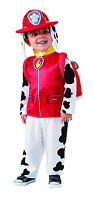Kids Marshall Paw Patrol Costume Dalmatian Fire Dog Child Size Small 4-6