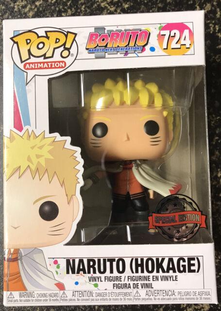 FUNKO POP BORUTO NARUTO HOKAGE #724 EXCLUSIVE VINYL FIGURE