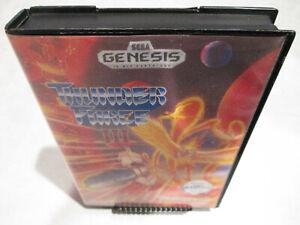 Thunder-Force-III-Sega-Genesis-Original-Authentic-w-Box-almost-Complete-CIB