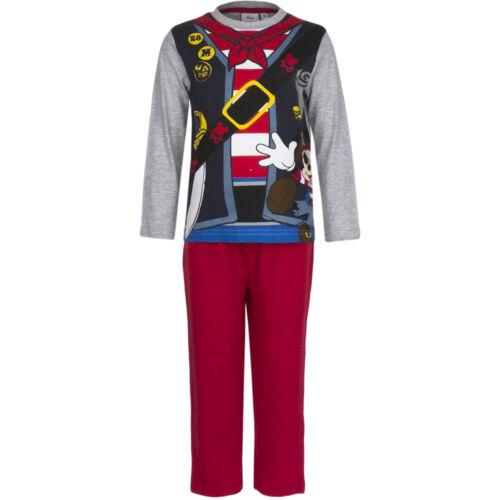 Vêtements de nuit Lot pyjamas Garçons Mickey Mouse Micky Gris Rouge Bleu 98