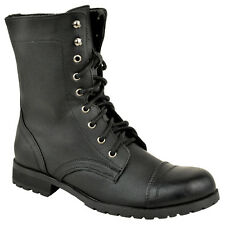 f7da350b5058 item 2 LADIES WOMENS WORKER COMBAT BIKER MILITARY FLAT LACE UP ANKLE BOOTS  SHOES SIZE -LADIES WOMENS WORKER COMBAT BIKER MILITARY FLAT LACE UP ANKLE  BOOTS ...