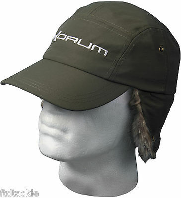 KORUM WINTER EAR WARMER CAP FISHING HUNTING HAT GREEN KWCAP01