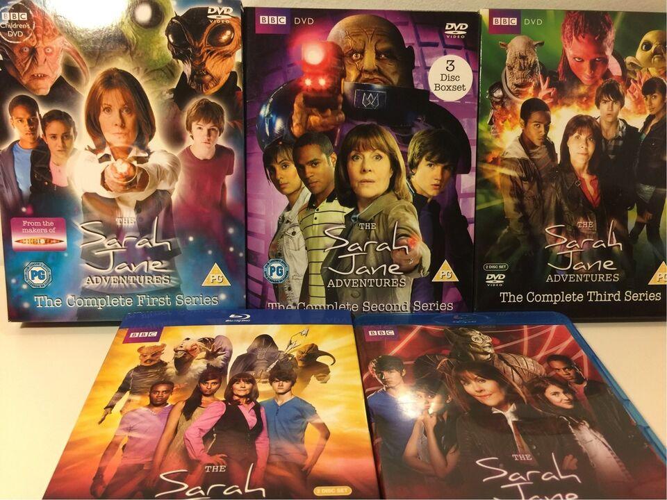 Sarah Jane Adventures, Blu-ray, TV-serier