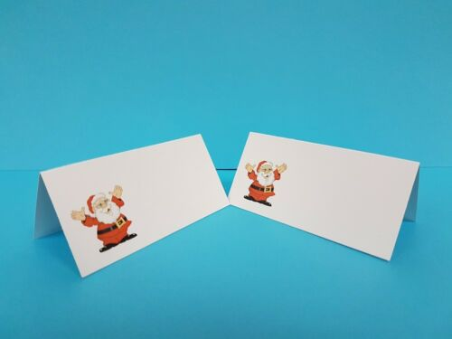 100 PRINTED PARTY WHITE SMOOTH FINISH TABLE PLACE NAME CARDS