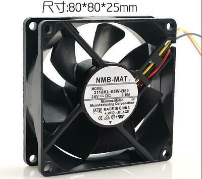 Original 3110KL-05W-B30 8025 24V 0.10A 8cm inverter fan