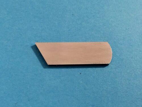 Messer für Singer 14U Overlock Maschinen Ohne Loch Untermesser