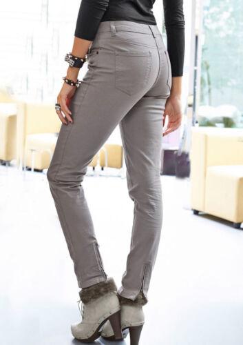 NEU!! Silbergrau 5-Pocket-Hose-Röhrenhose KP 49,99 € SALE/%/%/% Aniston