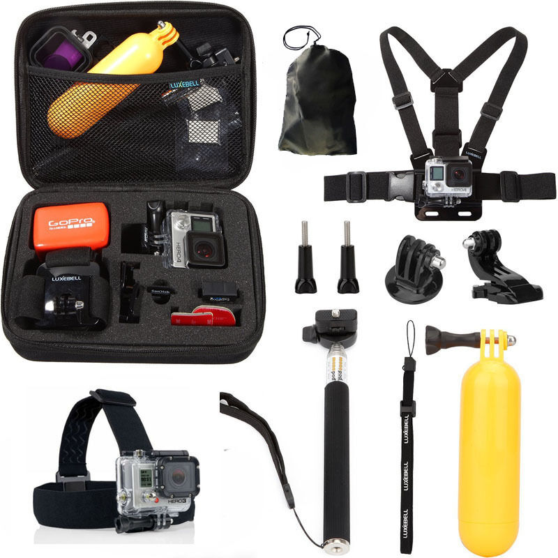 GoPro HERO Black Action Camera Accessories Kit For Go Pro He