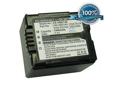 Battery for Panasonic NV-GS500EG-S NV-GS27EB-S NV-GS180EG-S VDR-D250EB-S NV-GS25