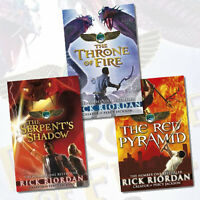 The Kane Chronicles Collection 3 Books Set Pack