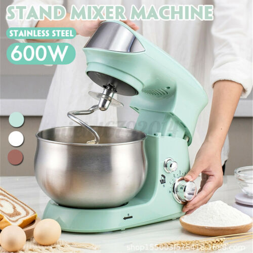 Multifunctional 3.5L 6 Speed Kitchen Stand Mixer Mixing Machine Stainless Steel