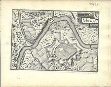 Antiguo Mapa, Milhau (Millau)