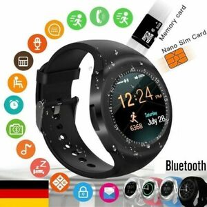 Details about Y1 Bluetooth Touch Screen Smart Watch Micro SIM TF Slot  Wearable For iOS Android