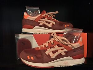 more photos 4e863 d9c0c Details about Ronnie Fieg Kith Asics Gel Lyte III Volcano 2.0 Size 9 V 5