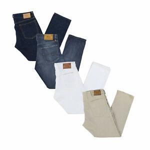 Polo-Ralph-Lauren-Jeans-Hommes-Varick-Droit-Slim-Bas-Pantalon-Decontracte-Nwt