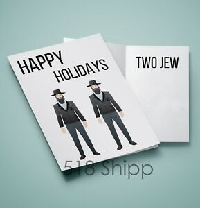 Happy-Holidays-Two-Jew-Humor-Funny-Greeting-Card-Jewish-Christmas-Thanksgiving