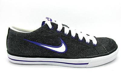 Femme Nike Capri Noir Toile Baskets 314956 025 UK 2.5 EUR 35.5 US 5   eBay