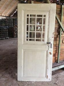 historische t r f rs gartenhaus mit ochsenaugenbeschl gen ebay. Black Bedroom Furniture Sets. Home Design Ideas