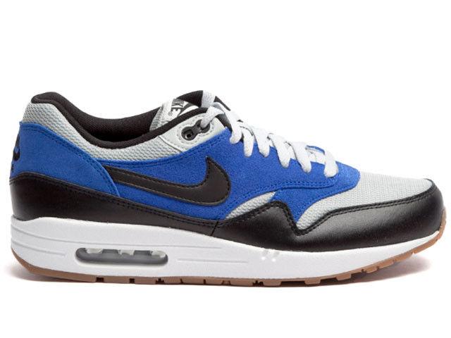 New Nike Men's Air Max 1 Essential shoes shoes shoes (537383-022)  Grey Mist Lyon bluee Gum b1067e