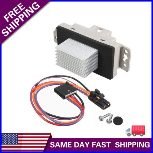 Fit 112822 Blower Motor Resistor Speed Control Module Upgrade Kit 19329838