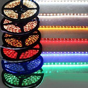 5-meter-LED-smd-STRIP-light-warm-white-Blue-Green-Red-5050-60-led-meter-12V-DC