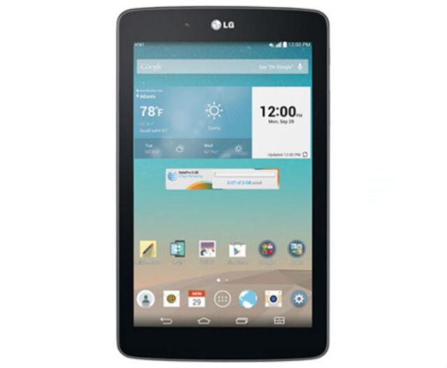 LG G Pad V410 AT&T GSM Unlocked 7-Inch 4G LTE Wi-Fi 16GB Tablet  - N,O