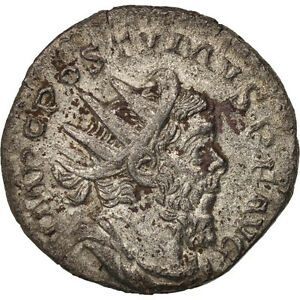 Antoninianus Postumus Enthusiastic 50-53 Ric:315 Reliable Performance Au #411621 Billon
