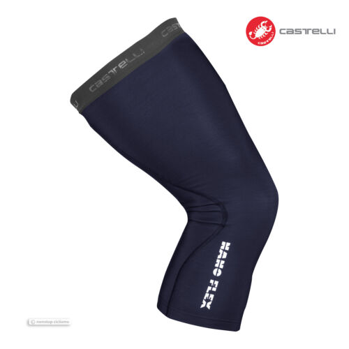 SAVILE BLUE NEW Castelli NANO FLEX 3G Water Repellent Cycling Knee Warmers