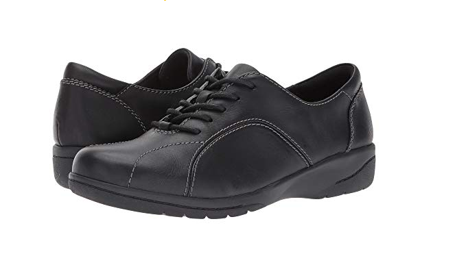caldo Clarks Leather Lace-up scarpe - Cheyn Ava Ava Ava nero Donna  Dimensione 5 New  vendita di offerte