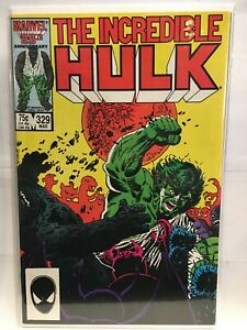Incredible-Hulk-Vol-1-329-VF-1st-Print-Marvel-Comics