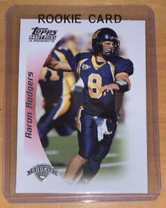 Aaron Rodgers 2005 Topps Draft Picks & Prospects Rookie Card