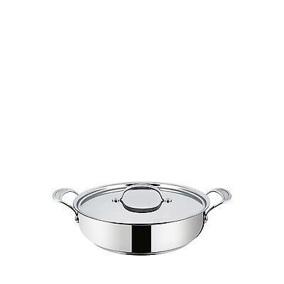 NEW Jamie Oliver Tefal Premium Stainless Steel Induction Pot Roast, 30cm