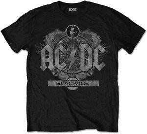 AC-DC-ACDC-Black-Ice-Album-Cover-Black-Version-T-SHIRT-OFFICIAL-MERCHANDISE