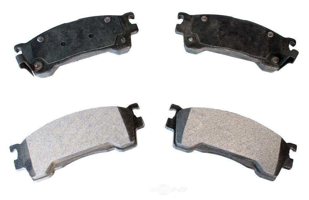 Disc Brake Pad Set-Semi-Metallic Pads Rear,Front Autopartsource MF786
