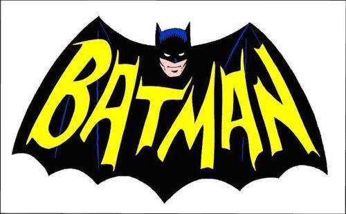 1960s BATMAN TV show logo magnet - new!