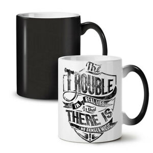 Trouble Real Life NEW Colour Changing Tea Coffee Mug 11 oz   Wellcoda